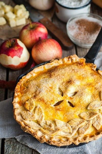 пироги, пироги с яблоками, яблоки, тесто песочное, из яблок, корица, выпечка, выпечка в духовке,