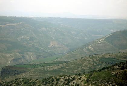 Battlefield of Yarmuk nowdays