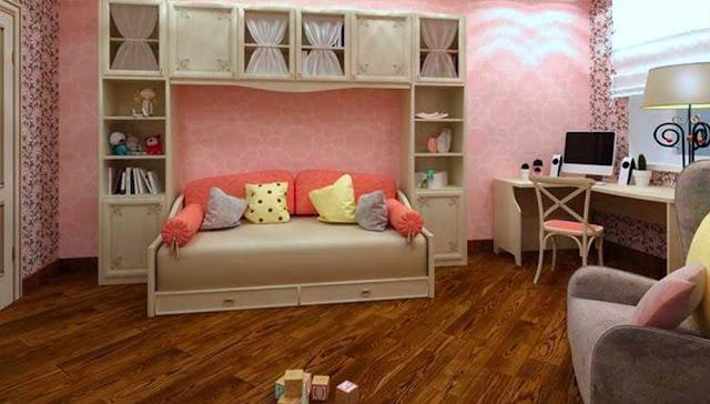 BEDROOM DESIGN FOR A TEENAGE GIRL