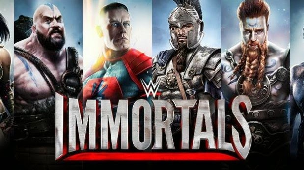 download game wwe immortals mod apk
