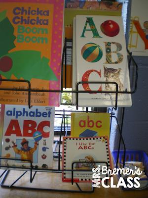 Alphabet activities perfect for literacy centers in Kindergarten.