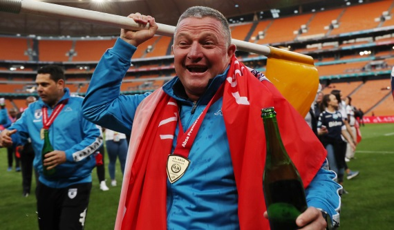 Four-time PSL winner Gavin Hunt has led Bidvest Wits to their first league title