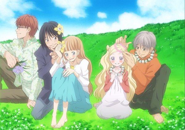 Hachimitsu To Clover di Rekomendasi Anime Romance - Drama Terbaik