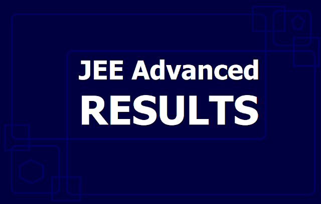 JEE Advanced 2019 Results @ jeeadv.ac.in