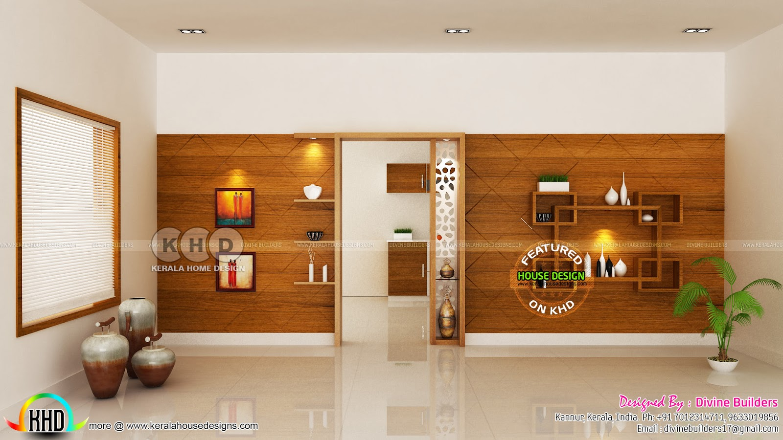 Living Master Bedroom Under Stair Interiors Kerala Home Design And Floor Plans 8000 Houses
