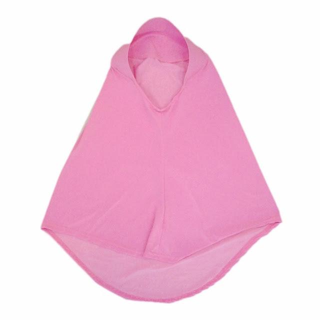 tudung sekolah pink tudong natasha