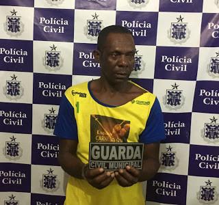 Amargosa (BA): Elemento é detido pela Guarda Civil após cortar sua companheira a facão