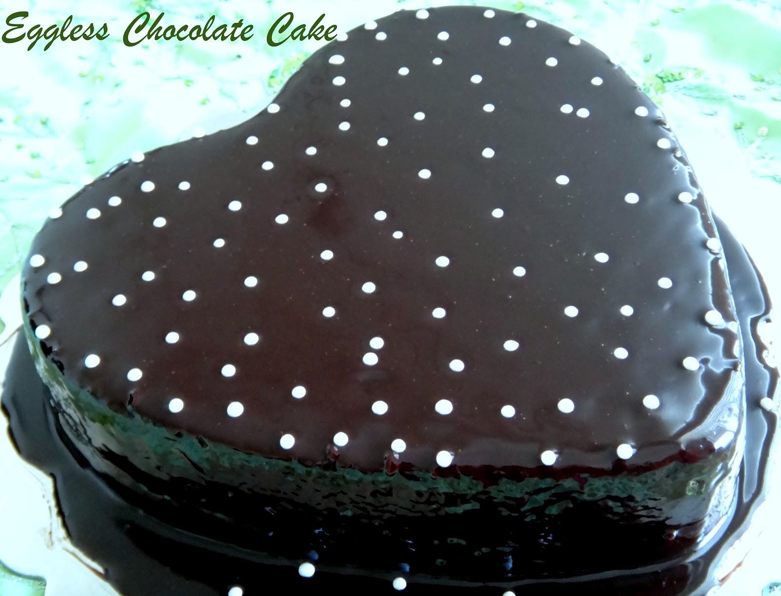 Cake Icing Recipe Joy Of Baking: Prabha's Cooking: Eggless Chocolate Cake~With Chocolate