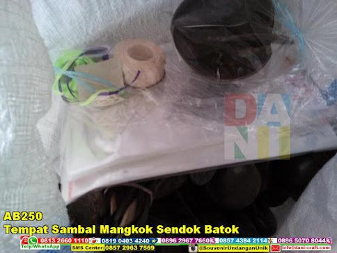 jual Tempat Sambal Mangkok Sendok Batok