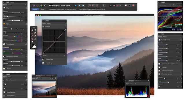 برنامج affinity photo بديل قوي للفوتوشوب بمميزات رائعة