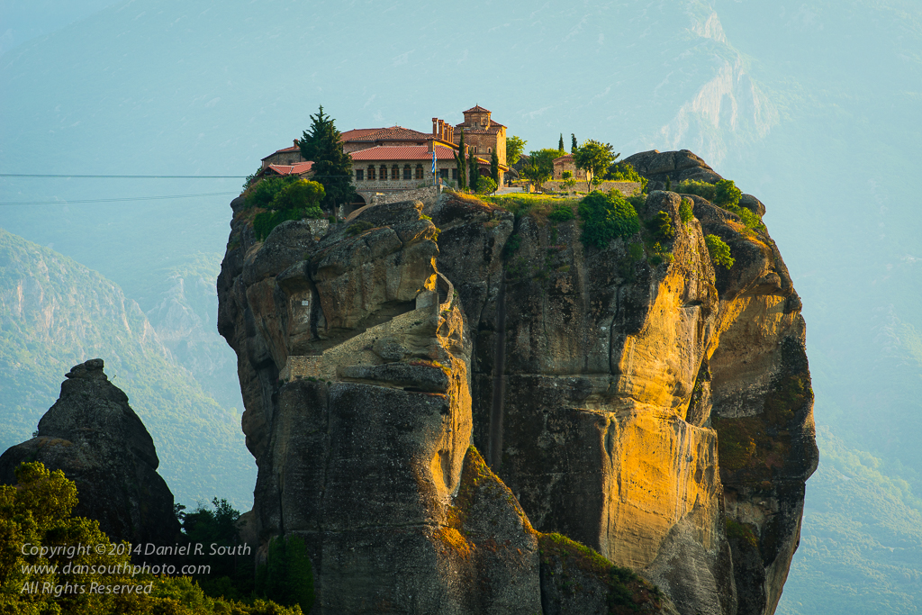 a photo of the Monastery of the Holy Trinity at Metéora