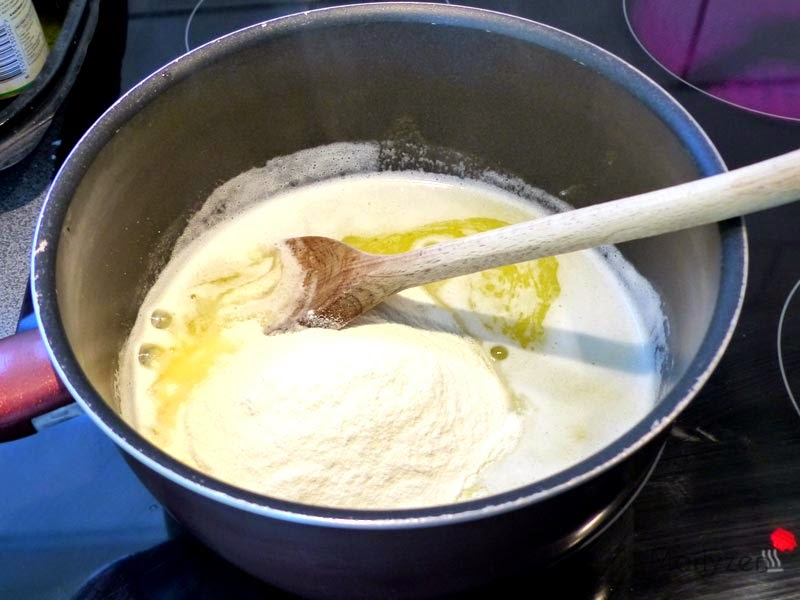 Ajoutez la farine.