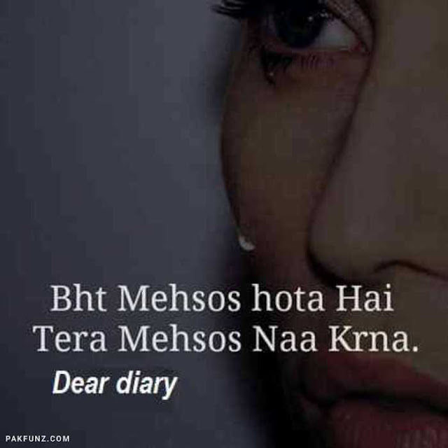 sad love poetry dear diary image