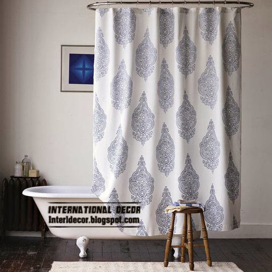 Latest designs of shower curtains and best trends for Latest trends in curtains