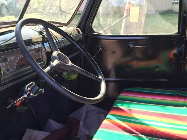1949 Chevy Pickup Truck Interior