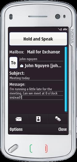 Speak to Type Voice Recognition for Nokia N8 via Vlingo v1
