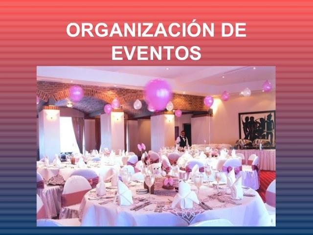 Servicio para organización de evento en todos los niveles social.