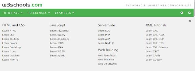حمل و تصفح موقع افضل موقع للبرمجة W3schools بدون انترنت