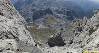 Peñasanta , Fernando Calvo Guia de alta montaña Picos de europa