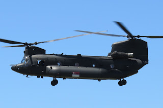 6a6f83fbc The Chinook - using the radio callsign