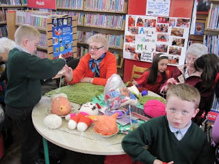 Sit & Knit Together for Bealtaine at Miltown Malbay Library #1