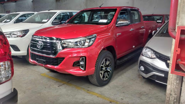 Toyota Hilux 2019 - Brasil