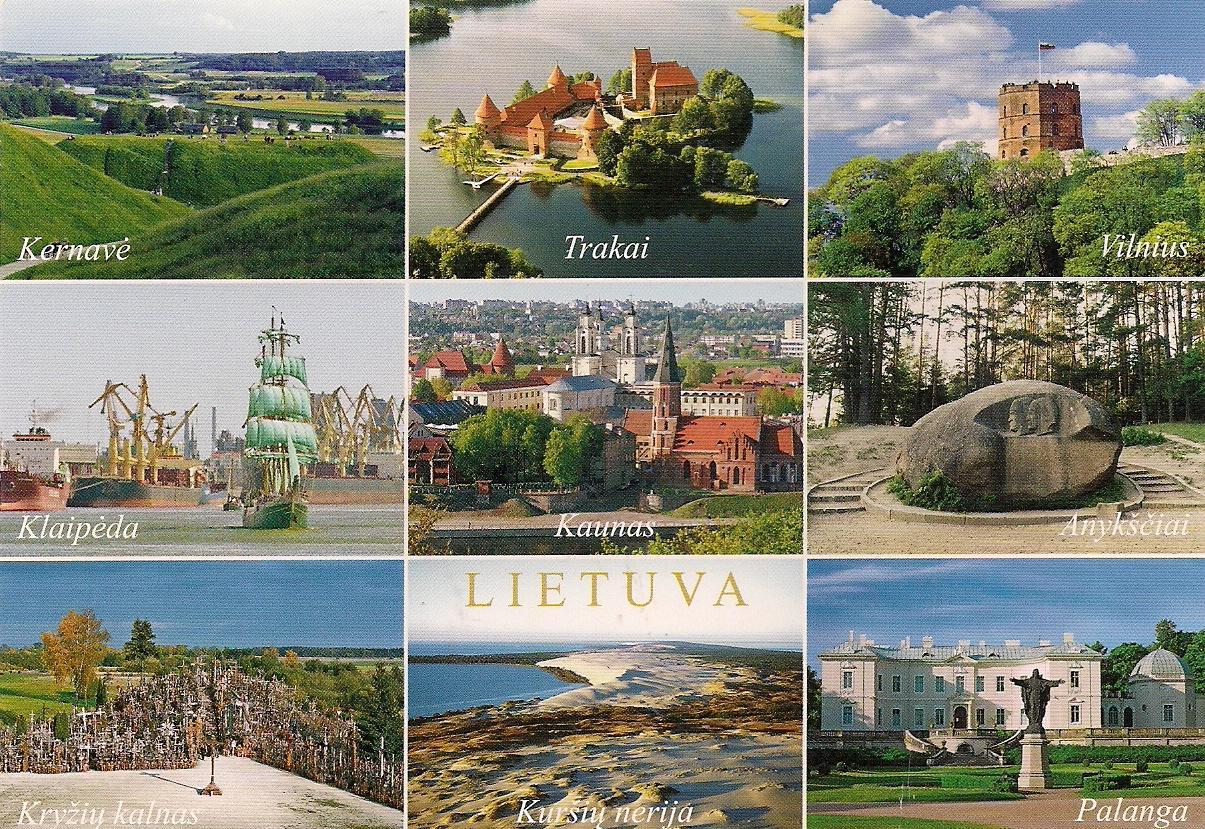 Lithuania   Tourist Destinations  Lithuania Sites