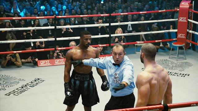 فيلم Creed II.. النقاد يعتبرونه جيد لكنه ليس أفضل من الجزء الأول مشاهد الأكشن والقتال