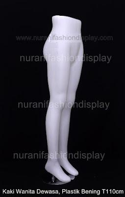 Patung Manekin Kaki Pajangan Celana Rok Wanita