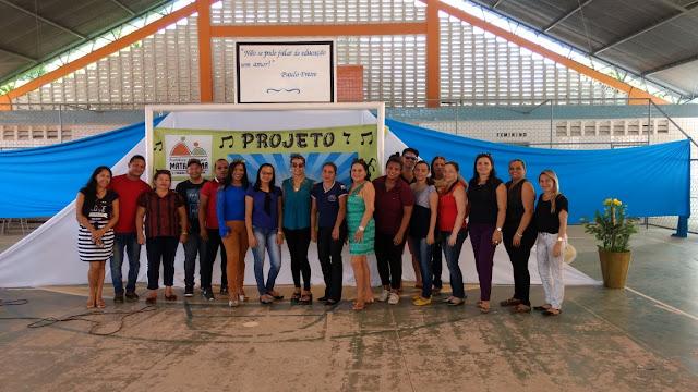 Show de talentos! Conheça mais um projeto da Secretaria de Educação de Mata Roma