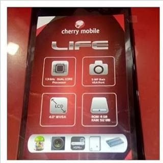 cherry mobile life front