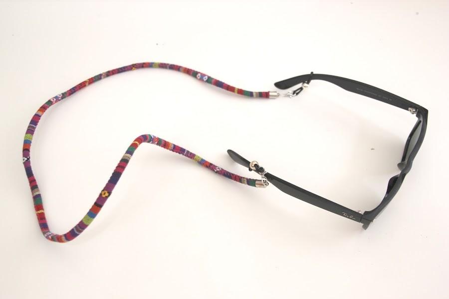 DIY Cordón de gafas étnico