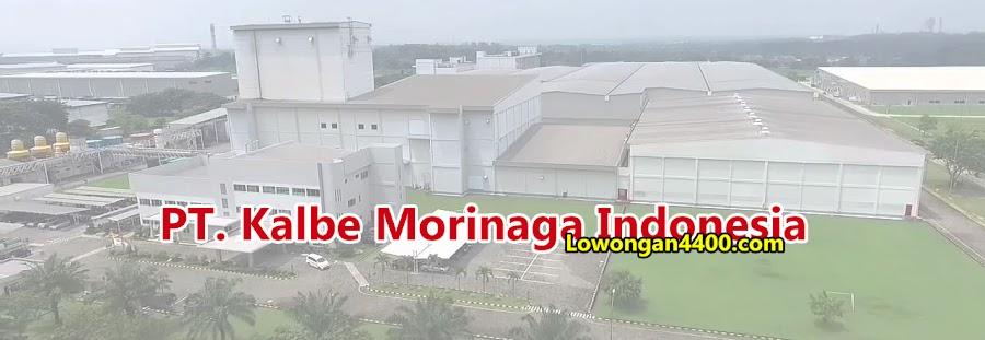 Lowongan Kerja PT. Kalbe Morinaga Indonesia Indotaisei Karawang