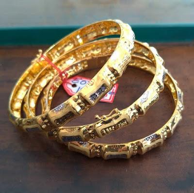 Model Gelang emas Keroncong anak