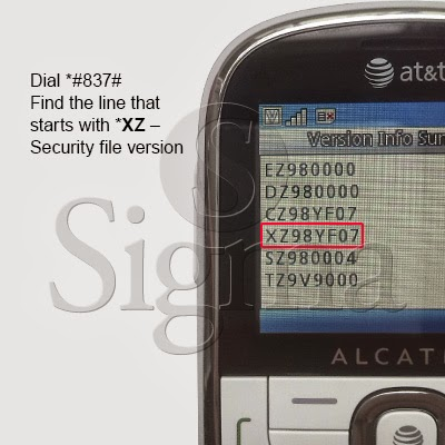 nck: Unlock Code Instructions for Alcatel