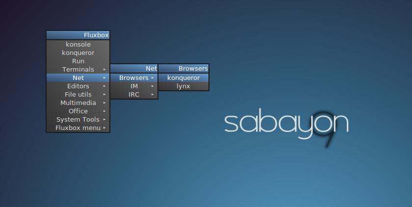 MALsPa's Space: fluxbox in sabayon