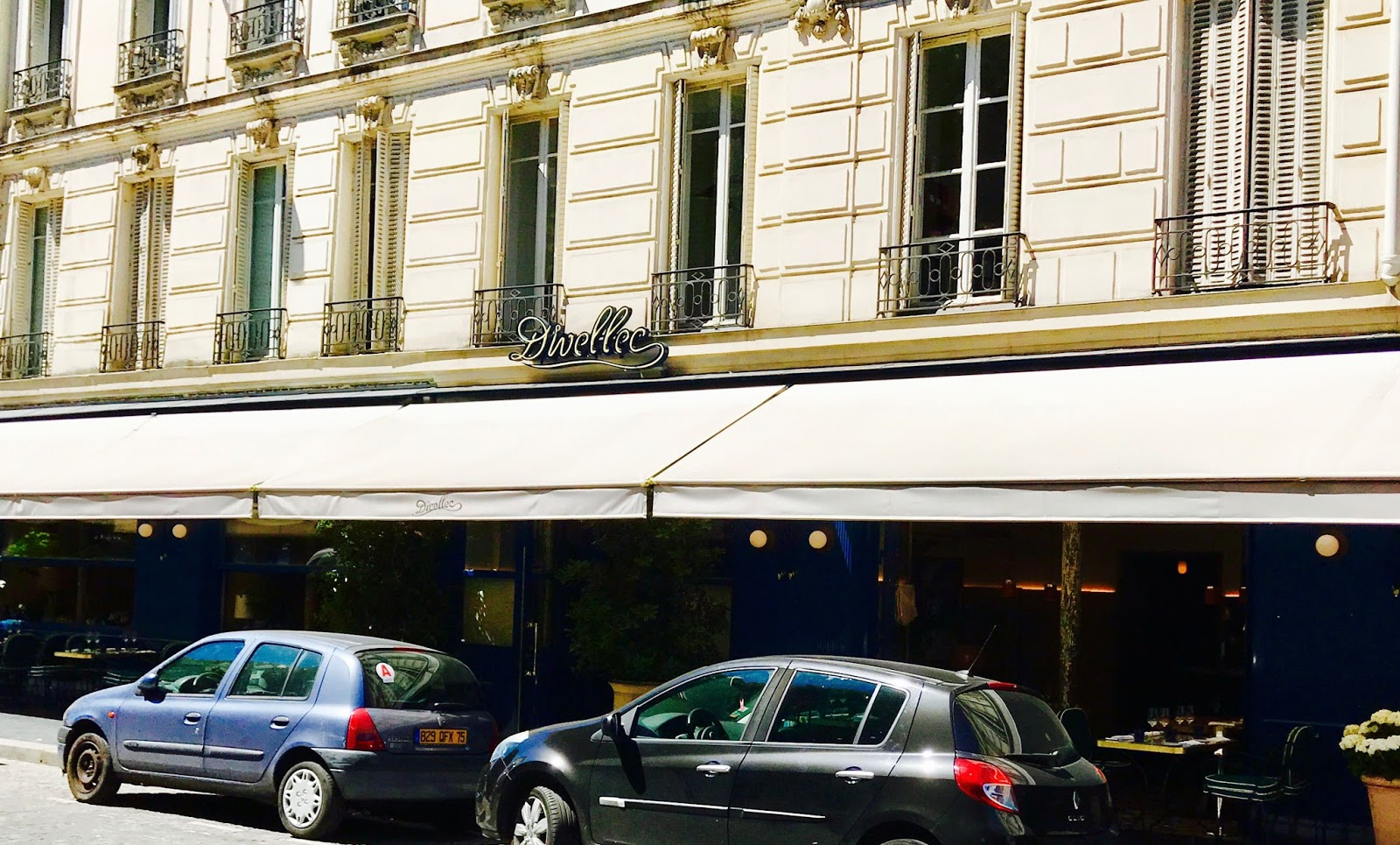 Divellec Restaurant Paris Missives