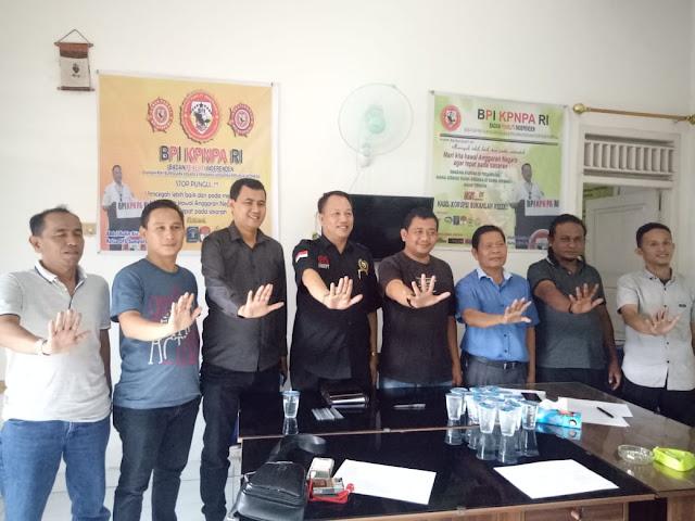 BPI KPNPA RI Siap Dukung Indonesia Bersih KKN