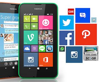 Harga Microsoft lumia 530 dan Spesifikasi, ponsel dengan fitur navigasi yang mengagumkan