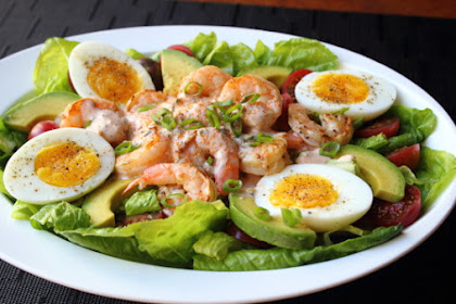 Grilled Shrimp Louie – Dressing Up a Classic