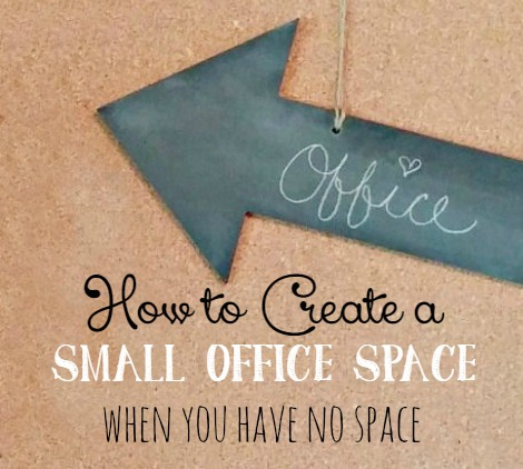 How to create an office in a small home