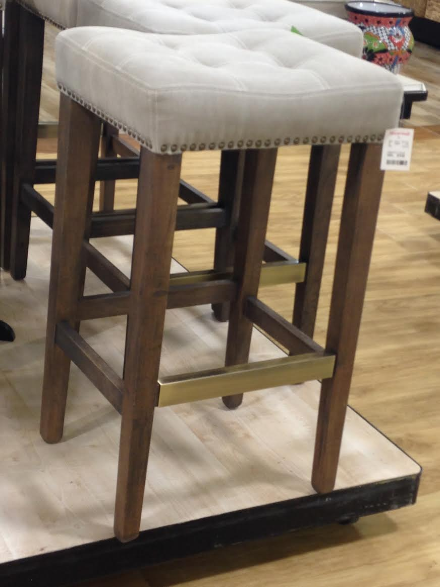 home goods bar stools Let's Go Shopping} HomeGoods | Little House of Four   Creating a  home goods bar stools