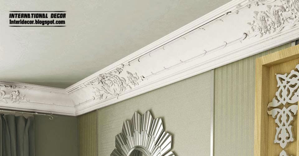 Luxury Plaster Cornice Design