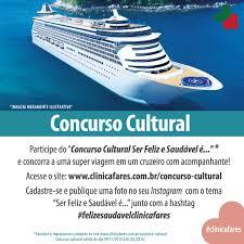 Concurso Cultural Clínica Fares no Instagram
