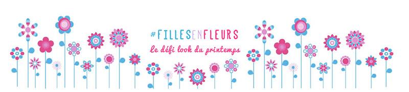 #fillesenfleurs défi look du printemps