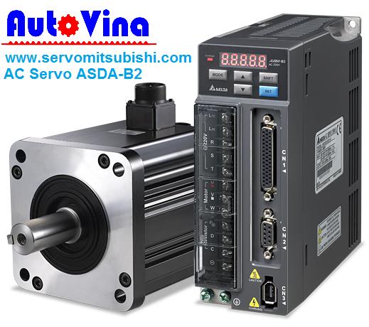 Tổng đại lý bán phân phối bộ điều khiển AC Servo, Động cơ Motor Servo hãng Delta 0.4kW : ASD-B2-0421-B , ECMA-C20604GS - ECMA-C20604RS - ECMA-C20604SS
