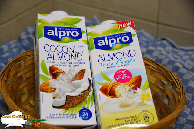 משקה אלפרו חדש New alpro flavors