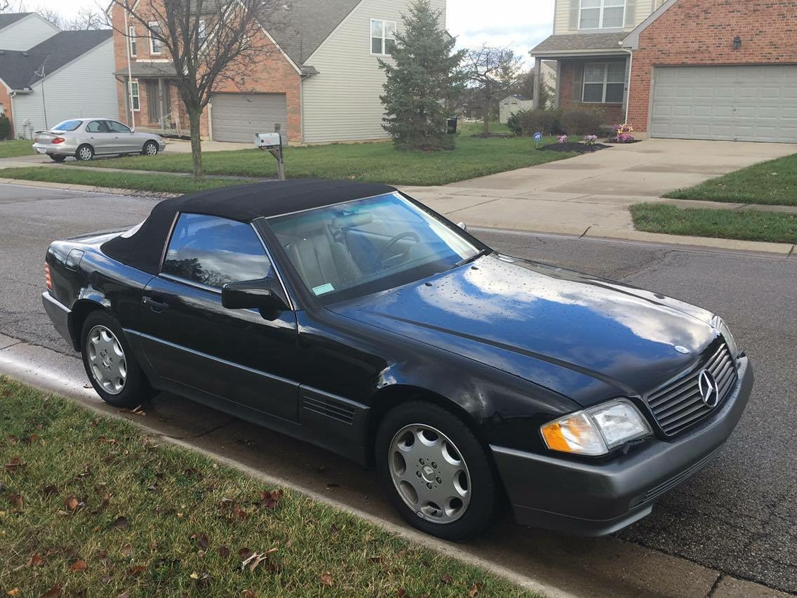 1995 mercedes sl 320 5 000 obo. Black Bedroom Furniture Sets. Home Design Ideas