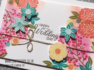 Learn how to make gorgeous flower cards using the Beautiful Bouquet stamp set by Stampin' Up!