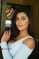 Anisha Ambrose Latest Pos Skirt at Fashion Designer Son of Ladies Tailor Movie Interview .COM 1156.JPG